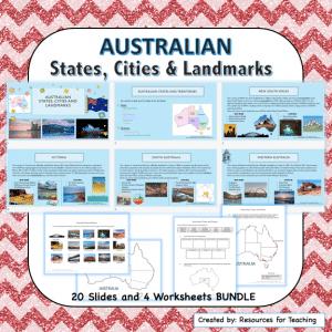Australian Cities, States and Landmarks