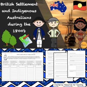 British Settlement and Indigenous Australians during the 1800's