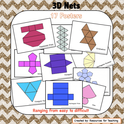 3D Nets Posters and Clipart Images