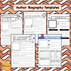 Book Report and Author Biography Templates