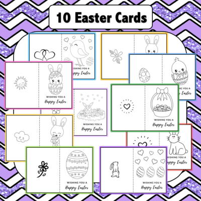 10 Easter Card Templates