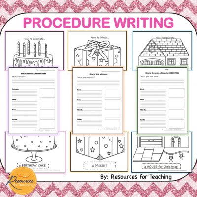 Procedure Writing Templates
