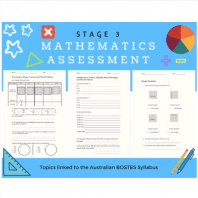 Number & Algebra Assessment Task