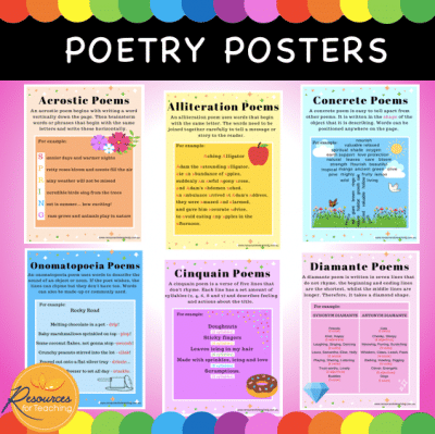 Poetry Posters