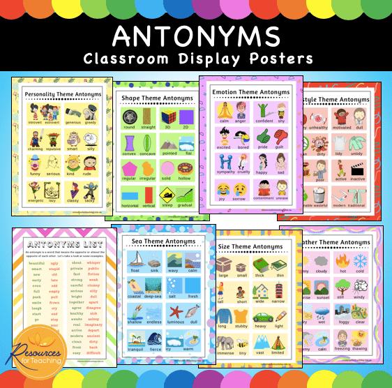Antonym Posters