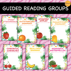 Fruit Theme Reading Groups