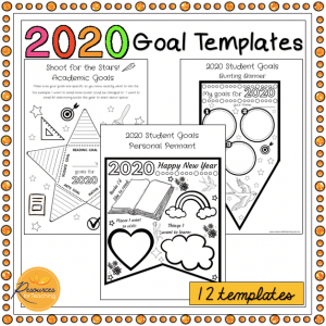 2020 Student Goal Templates