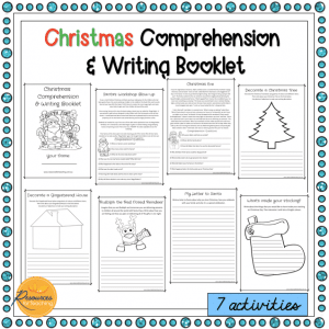 Christmas Comprehension Booklet